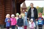 Поездка Воскресной школы в храм Троица-Чижи