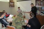 Занятия в Православном казачьем центре  1 апреля  2017